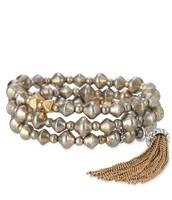 Milana Tassel Stretch Bracelets