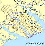 Facts about the Pasquotank River basin