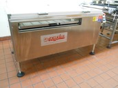 TRAY LOADER for baking trays and peel boards 80 x 100 cm