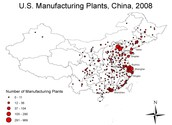 China's manufacturing plants