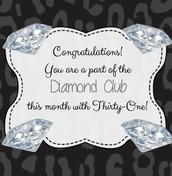 Diamond Club $1000+