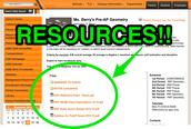 Resources Galore!