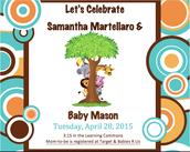 Celebrate Baby Mason!