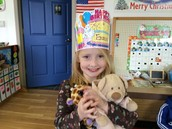 Star of the Week and Birthday Girl!