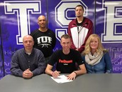 SHS basketball player signs with Red Wolves at IU East