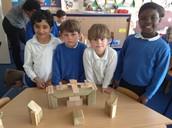 making our own symmetrical stonehenge