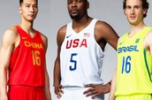 NEW 2016 Olympic Basketball Jerseys
