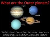 Inner and outter planets differences and similarities