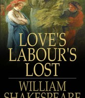 The Book Love's Labour's Lost by ShakeSpare