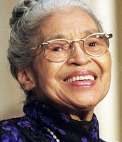 Rosa Parks when she was older