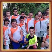 Equipo de Fútbol de niños Escuela Los Ángeles