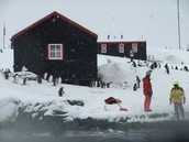 Houses in Antarctica