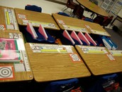Learning materials are ready to go.