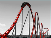 Superman Roller Coaster at Six Flags America