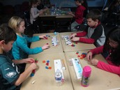 Geometry - making new shapes with pattern blocks!