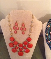 Earring and Necklace