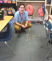 Mr. Krupp lost the Spaghetti-Marshmallow Challenge by 1/4 of an inch