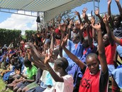 Crowd Cheers at one of the games