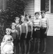 Kennedy's childhood