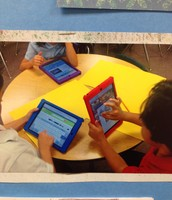 We use our iPads for research and information