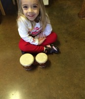 Juliette-Professional Bongo Player!