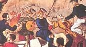 Warriors fighting the British