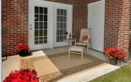 Personal Patio w/ Enclosed Storage