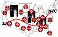 """KKK """"brotherhood"""" Locations"""