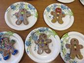 Gingerbread Men Ornaments