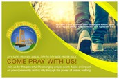 City to City Wide Prayer Walk!