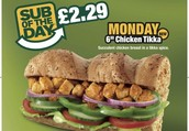 Monday Madness at Subway