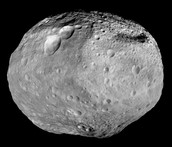 showing how bright Vesta is.