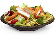 Premium Bacon Ranch Salad with Crispy Chicken