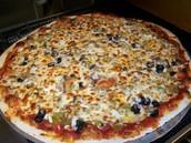 La pizza de luxe