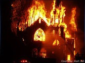 The Church is on fire!