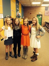 Delaney, Abby, Sophie, and Haliey