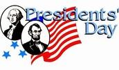 Reminder: No School on Monday - President's Day