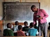 Tercer mundo países necesito major educación