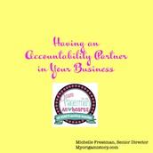 Having an Accountability Partner!