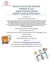 Kids Cooking Classes at SMS