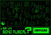 ¿Es un signo musical?