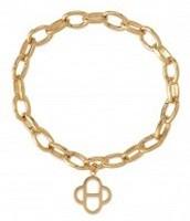 Signature Link Charm Bracelet