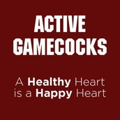 The Active Gamecocks program~ Turn in your exercise logs next week!