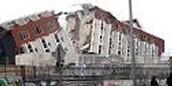 Building split apart