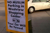 No Muslim Parking