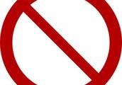 No-No List