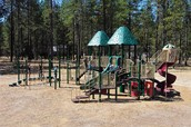 This is the Lake Spokane Elementary playground