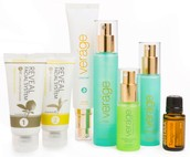 Experience a luxurious facial using doTERRA's Verage line of products