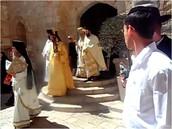 מתחם תפילה נוצרי מעל קבר דוד