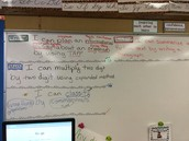 Learning targets posted and unwrapped